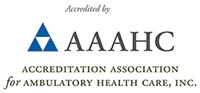 Logo for accerditation association