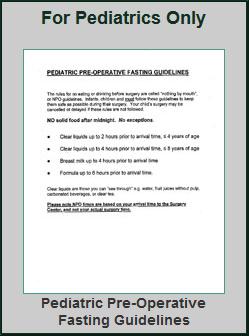 Registration for pediatrics